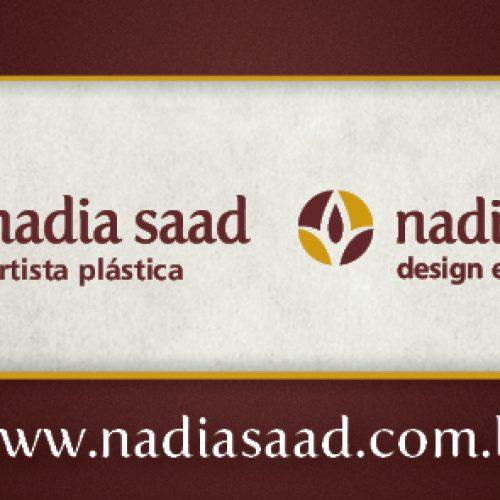 Cartão de visita - Nadia Saad