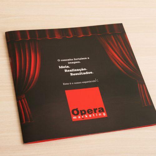 Folder de apresentação - agência de publicidade