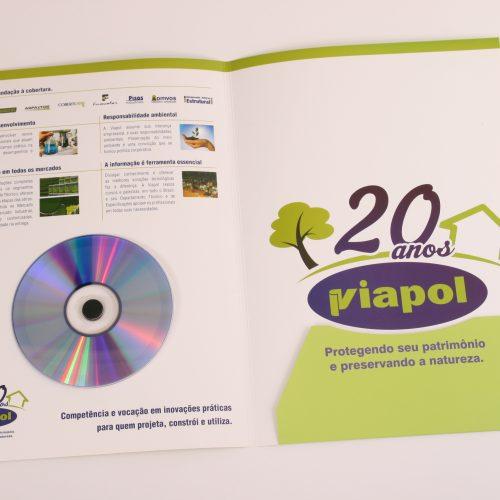 Pasta com CD - Viapol