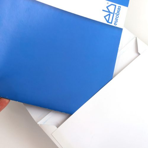 Folder institucional com envelope