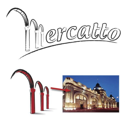 logotipo Mercatto Mooca