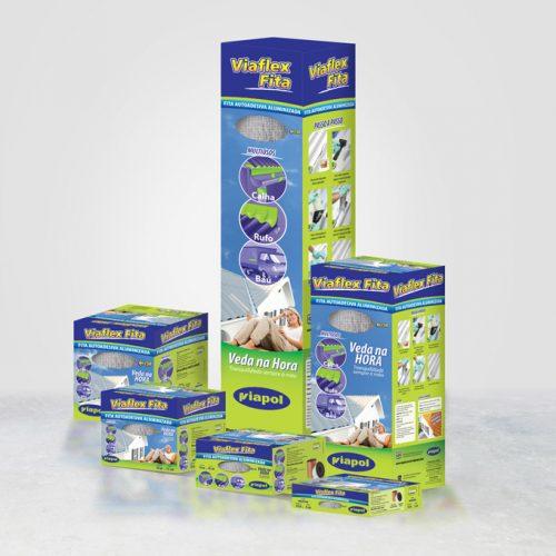 Embalagem Viaflex Fita - Viapol