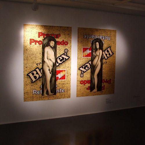 Adão e Eva em exposição no SESC Ribeirão Preto
