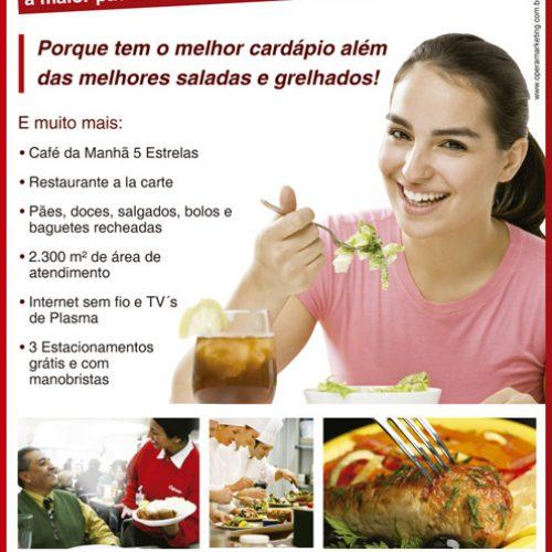 Anúncio padaria Cepam - Campanha em jornal