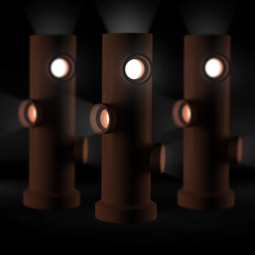 Luminária em cerâmica - Nadia Saad