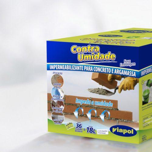 Embalagem Contra Umidade - Viapol