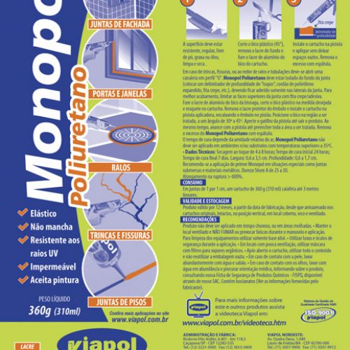 Embalagem Monopol - Viapol