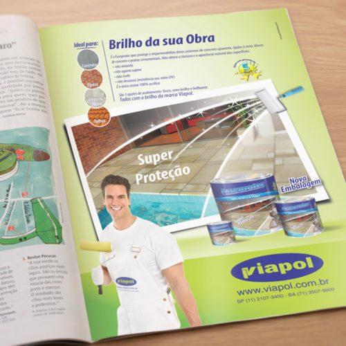 Anúncio revista - Viapol