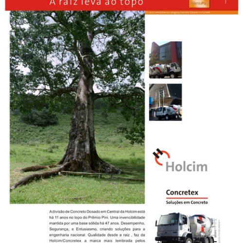 Anúncio revista - Holcim