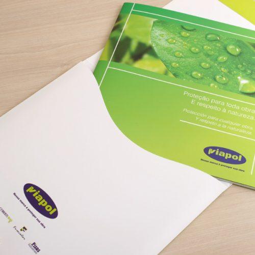 Institucional com envelope - Viapol
