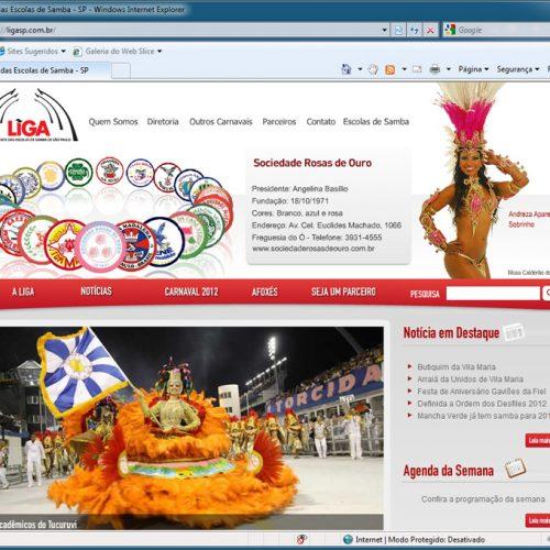 Liga SP - carnaval