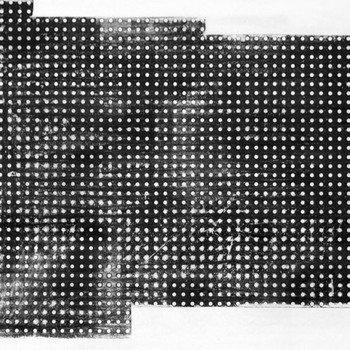 Xilogravura sobre papel - Optical