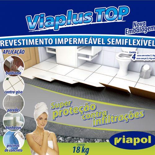 Nova embalagem Viaplus - Viapol